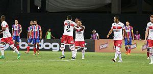 Na Fonte Nova, CRB empata em 1 a 1 com o Bahia na estreia do Nordestão; veja gols