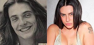 Fábio Jr. posta foto antiga e semelhança com Cleo impressiona