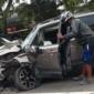Motorista invade a contramão e atropela motociclistas na Avenida Fernandes Lima; um morre