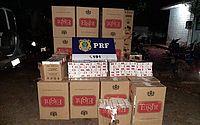 Homem é preso e polícia apreende 20.000 carteiras de cigarros contrabandeados em AL