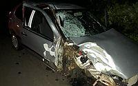 Acidente entre carro e moto deixa dois mortos na AL-220, em Arapiraca