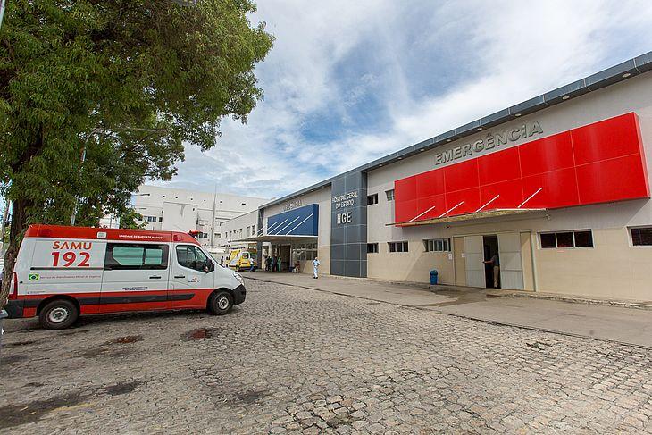 Os feridos foram levados ao HGE, em Maceió