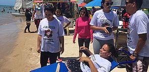 Praia sem Barreiras: Barra de São Miguel vai receber projeto no próximo sábado