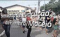 Assista como foi o simulado de evacuação do Pinheiro