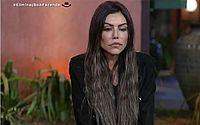 "Liziane Gutierrez é a primeira eliminada de 'A Fazenda"""