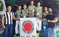 Alunos de Delmiro Gouveia conquistam medalhas em Campeonato Brasileiro de Jiu-jitsu