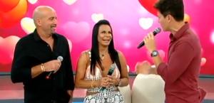 Cantora Gretchen e o marido encaram o Jogo Da Afinidade