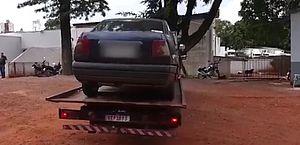 Proposta isenta de taxas o veículo recuperado pela polícia após furto