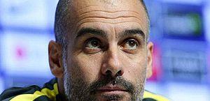 Pep Guardiola mantém discurso sobre Messi: 'Quero que siga no Barcelona'