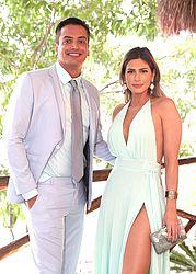 Léo Dias e Lívia Andrade