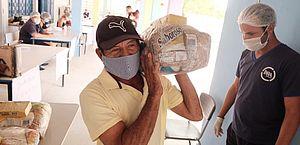 Mais beneficiários poderão receber cestas básicas em Maceió; veja locais
