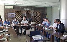A reunião de alinhamento com representantes do Trade turístico da cidade aconteceu no hotel Best West Premier, Pajuçara