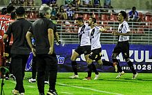 Matheus Vargas empurrou para o gol do CSA logo no primeiro minuto da partida