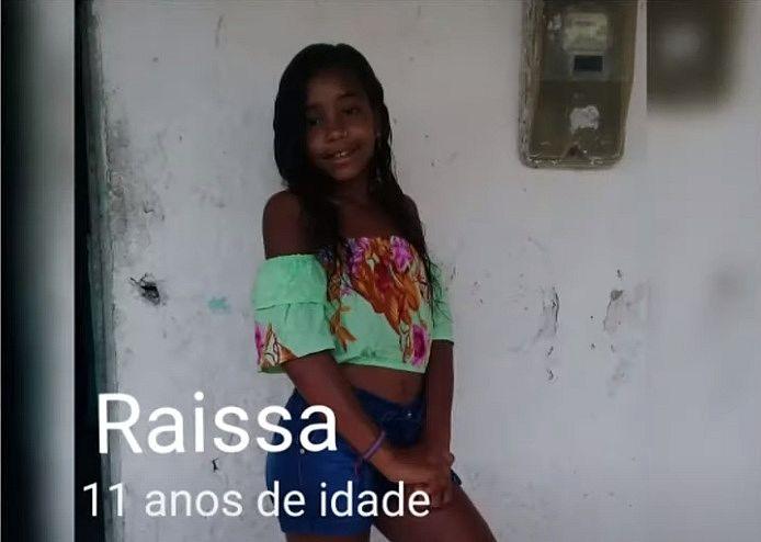 Familiar reconheceu corpo da menina Raíssa, mas IML ainda aguarda confirmação através de exame de DNA