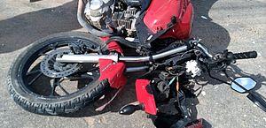 Motociclista fica ferido após acidente frontal com carro na AL-215, em Marechal Deodoro