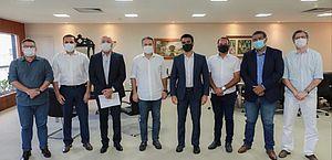 Renan Filho e JHC devem anunciar novas medidas de combate à pandemia
