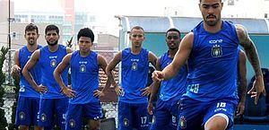 Jogadores e funcionários do São Caetano entram em greve após atraso de salários