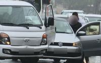 Briga de motoristas parou trânsito no bairro Cambona, em Maceió