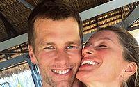 Tom Brady homenageia Gisele Bündchen e se confunde ao escrever em português