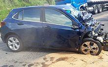 Nutricionista alagoana morre em acidente de carro na BR-424, em Garanhuns