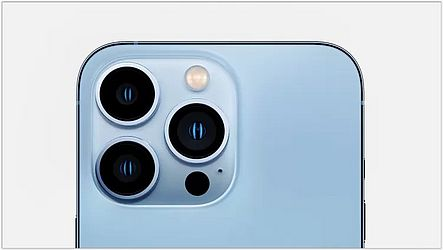 Iphone 13 Pro conta com três câmeras | Foto: Reprodução