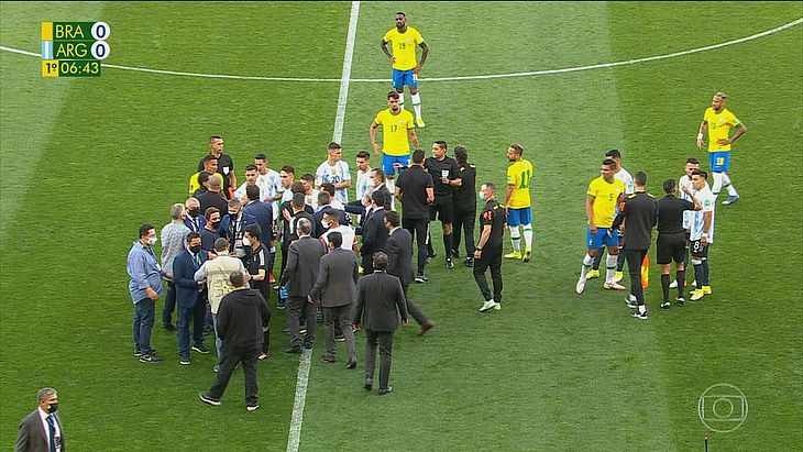 Jogo Brasil x Argentina