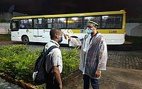 Empresas de ônibus vão aferir temperatura de rodoviários durante rotina de trabalho