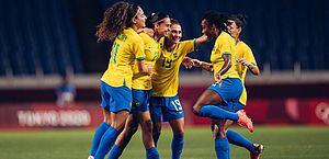 Brasil vence Zâmbia por 1 a 0 e enfrenta Canadá nas quartas de final do futebol feminino