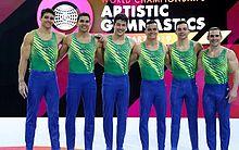 Seleção masculina de ginástica artística garante vaga em Tóquio 2020