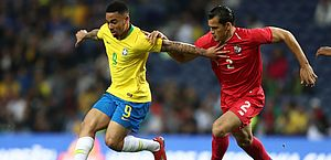 Brasil enfrentou o Panamá neste sábado