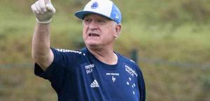 Após empate, Felipão diz que objetivo do Cruzeiro é não cair