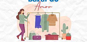 Instituto Amor 21 realiza Bazar do Amor no próximo sábado