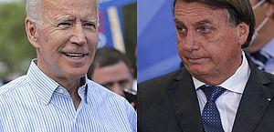 Bolsonaro cumprimenta Biden e diz que enviou carta para o americano