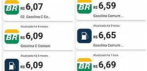 Em Maceió, preço da gasolina varia de R$ 6,07 a R$ 6,69; baixe o aplicativo e saiba valores por posto e bairro