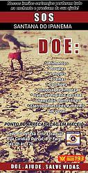 Defesa Civil e Bomebeiros fazem campanha para receber doações