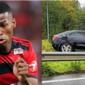 Ex-Flamengo e Santos, Jean Lucas sofre acidente de carro, que chega a capotar na pista; atleta diz que está bem