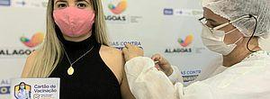 Covid-19: mais de 90% dos alagoanos com 35 anos ou mais estão vacinados com a 1ª dose