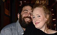 Adele e Simon Konecki, quando eram casados