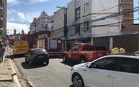 Bombeiros registram princípio de incêndio em cartório no Centro de Maceió
