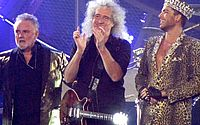 A banda Queen e o cantor Adam Lambert