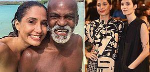 'Vou aplaudir e abençoar', diz pai de Camila Pitanga sobre namoro da filha