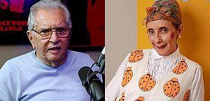 Carlos Alberto de Nóbrega e Gorete Milagres, a intérprete de 'Filomena', trocam farpas na web