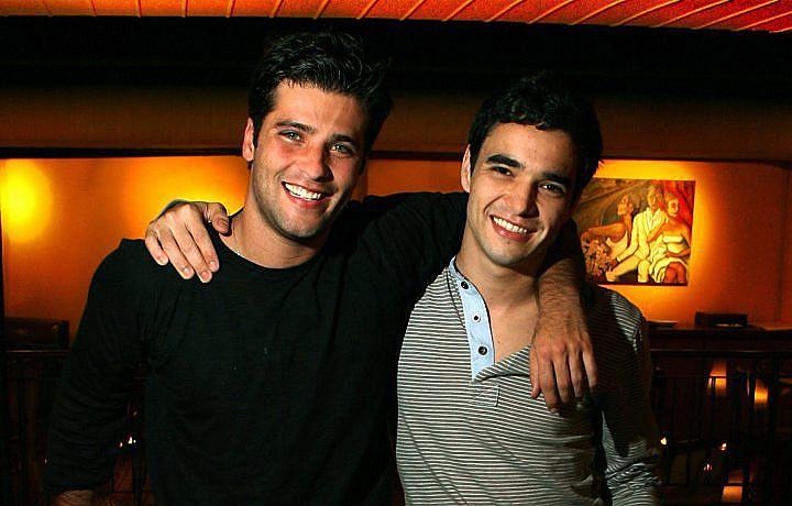 Bruno Gagliasso e Caio Blat