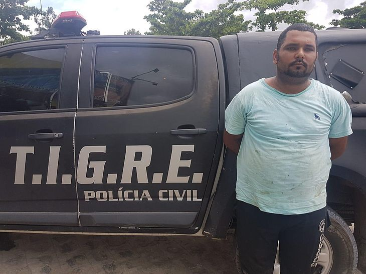 Edmario Silva Lima foi preso no Feitosa