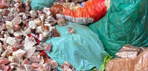 Mais de 400 kg de carne estragada e alimentos fora da validade são apreendidos no Pilar