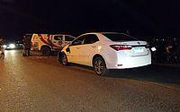 Motorista atira contra policiais, bate em viatura e é preso em Craíbas