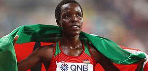 Tragédia! Recordista mundial do Quênia é encontrada morta em casa