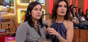 Mulher faz pergunta sobre 'homem brocha' e deixa Fátima chocada na TV
