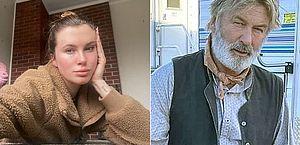 Filha de Alec Baldwin revela ameaças após pai dar tiro acidental