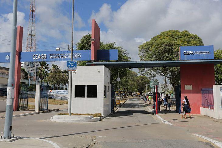 O CEPA, em Maceió, registrou fluxo pequeno de eleitores